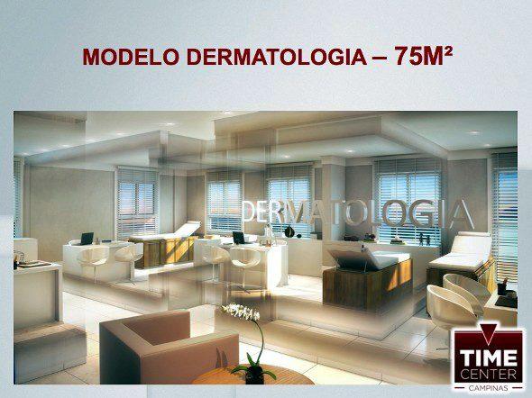 time center dermatologia 75m2