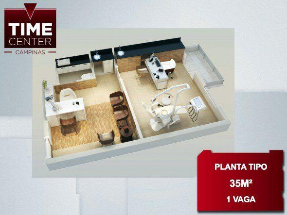 time center planta 35m2