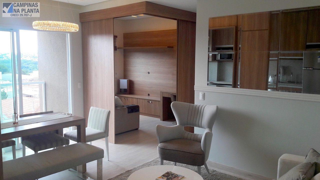 Vera Paiolla Apartamento à Venda no Taquaral Sala do Apto Decorado