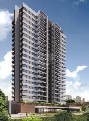 vestra cambuí fachada do breve lançamento de apartamentos na planta no Cambuí da incorporadora SETIN