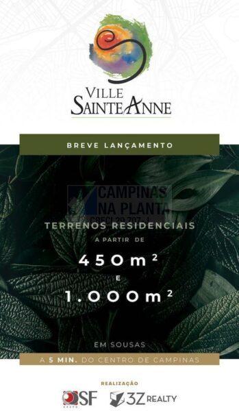 Ville Sainte Anne Imagem Ilustrativa do Breve Lançamento de Lotes em Campinas