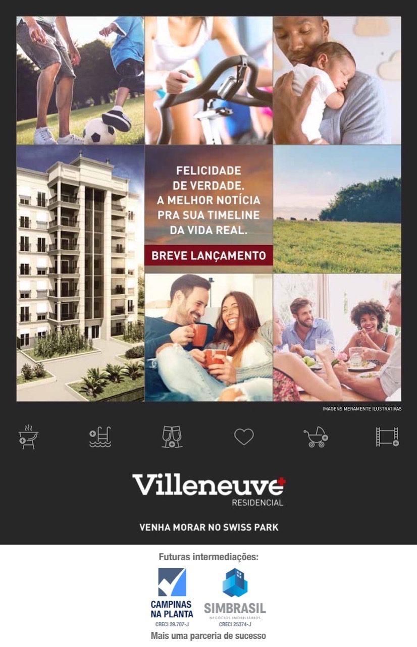 Villeneuve Residencial Swiss Park Breve Lancamento Imagens Ilustrativas