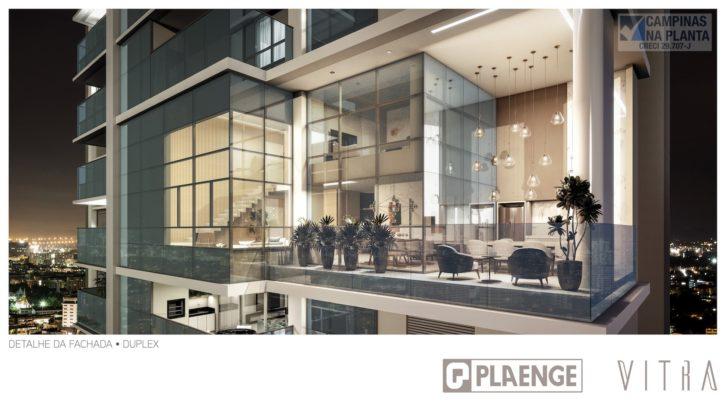 Vitra Plaenge Perspectiva do apartamento Duplex