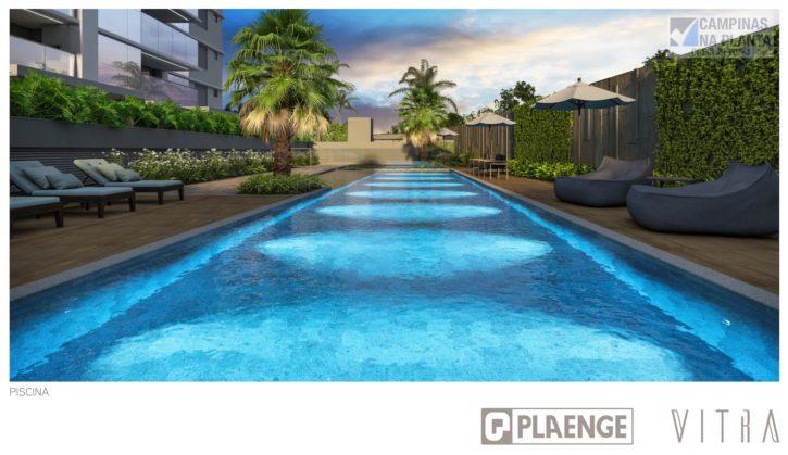 Perspectiva piscina do vitra Plaenge